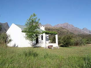 Jan Dissel selfcatering accommodation on guest farm near Clanwilliam in the Cederberg Wilderness Area South Africa